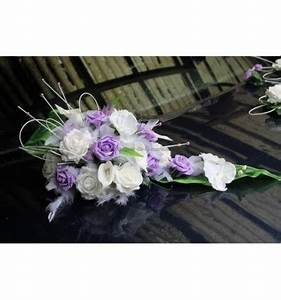 Deco Avec Piece De Voiture : composition florale pour voiture de mariage avec des orchid e parme bouquet de la mariee ~ Medecine-chirurgie-esthetiques.com Avis de Voitures