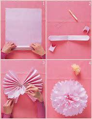Make Tissue Paper Pom Poms