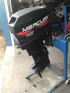 1995 Mercury 25 Hp Outboard Boat Motor Engine 20 U0026quot  2