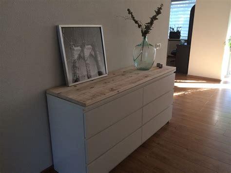 Ikea Schuhschrank Trones by Steigerhouten Planken Op Een Malm Ikea Kast Wood On A
