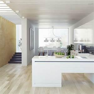 choisir le bon parquet pour sa cuisine marie claire With parquet dans la cuisine