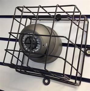 Mm steel cctv cage for cameras floodlight