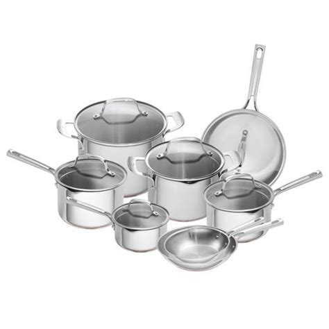 emeril cookware stainless steel copper core 14pc canada