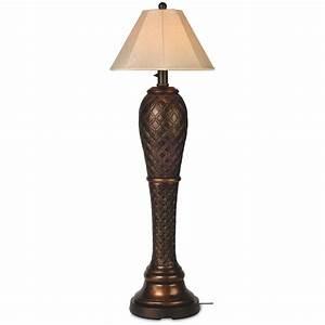 patio living concepts monterey 60 inch outdoor floor lamp With galante outdoor floor lamp