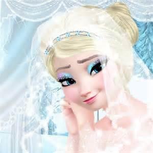 Elsa Wedding Make Up Games