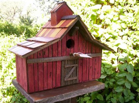 Permalink to Free Barn Style Birdhouse Plans