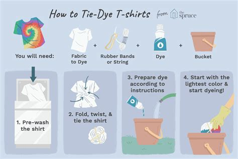 tie dyed clothes  crafts