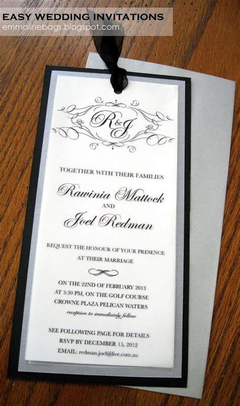 emmaline bags patterns diy wedding invitations