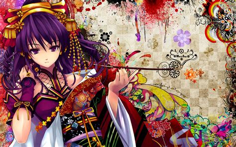 Colorful Anime Wallpaper - anime snyp colorful beatmania anime wallpapers
