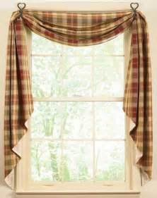 country decor cottage kitchen curtains retro and