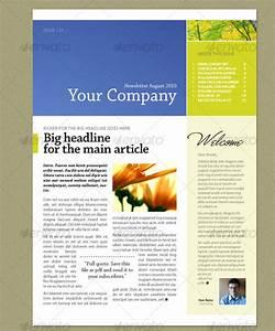 16 fantastic indesign flyer templates for Indesign newsletter templates