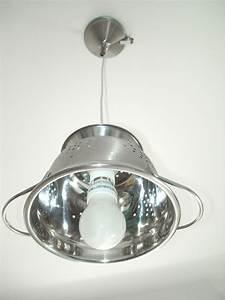 Luminaire Fait Maison : luminaire cuisine inox brosse ~ Melissatoandfro.com Idées de Décoration