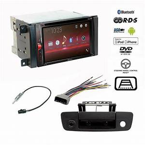 Pioneer Double Din Bluetooth Usb Stereo Backup Camera