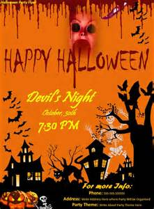 Free Halloween Dance Flyer Templates by Halloween Party Flyer Word Excel Pdf