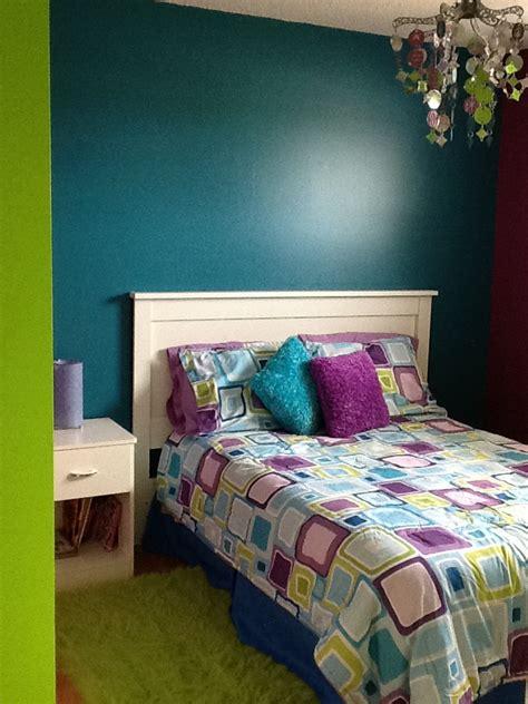 Bedroom  Greenbluepurple  My Bedroom Style Pinterest