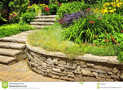 Natural Stone Landscaping Stock Image. Image Of Gardening Landscaping Service In Milwaukee Ideas Eds Tree And The Landscape Company Lloydminster Ed Poole Echo Delay Supplies Plant Nursery New Braunfels