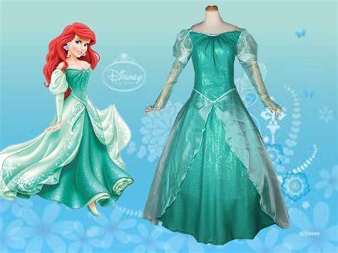 Disney Ariel Wedding Dress Costume - Meningrey