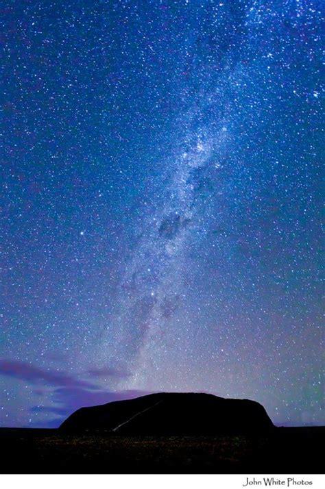 Milky Way Uluru Ayers Rock Australia Also Known