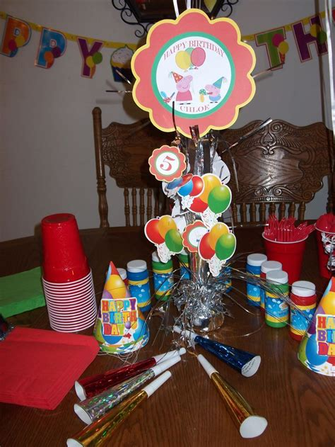peppa pig party images  pinterest peppa pig