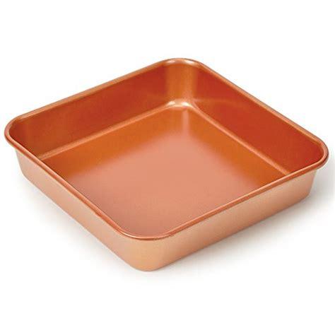 copper chef  piece bakeware set kitchen gadgets