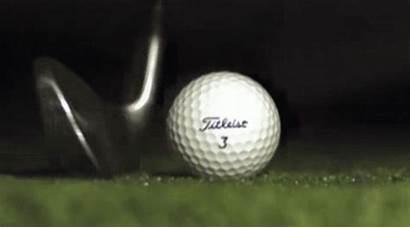 Ball Golf Animated Newton Animation Divot Iron
