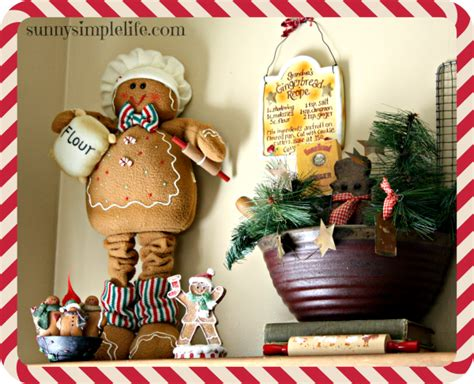 gingerbread kitchen accessories simple kitchen tour 2014 1216