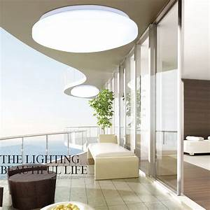 W led round ceiling suspended recessed panel light home