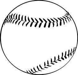 shower koozie baseball clipart clipart best