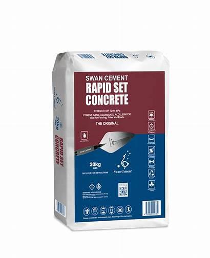Rapid Concrete Cement Strength 20kg Setting Swan