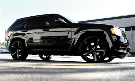 jeep grand cherokee blackout full chrome trim blackout on this jeep cherokee srt8 i