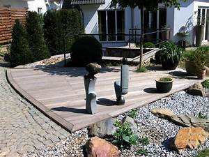 Unterkonstruktion Terrasse Holz : terrassen aus holz und stein la77 hitoiro ~ Whattoseeinmadrid.com Haus und Dekorationen
