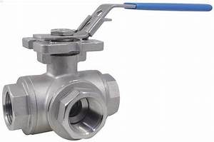 Ball Valve  Lever Handle  316 Stainless Steel  3