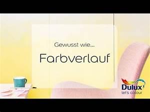 Streichen Decke Wand übergang : gewusst wie farbverlauf youtube ~ Eleganceandgraceweddings.com Haus und Dekorationen