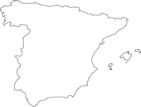 printable map  spain map  spain spain sketches