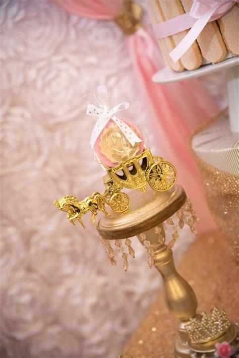 karas party ideas gold pink royal princess birthday