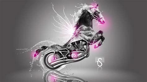 harley davidson fantasy water horse  el tony