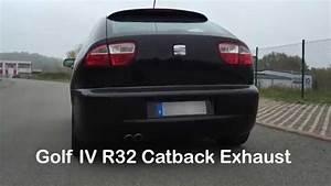 Golf 4 2 8 V6 : seat leon cupra 4 2 8 v6 stock vs golf iv 4 r32 catback ~ Jslefanu.com Haus und Dekorationen