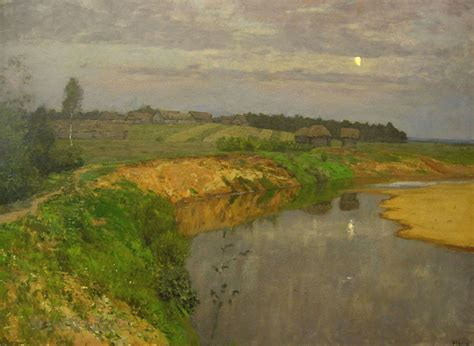 Isaac Levitan   Spring in Italy, 1890   Masterpieces ...