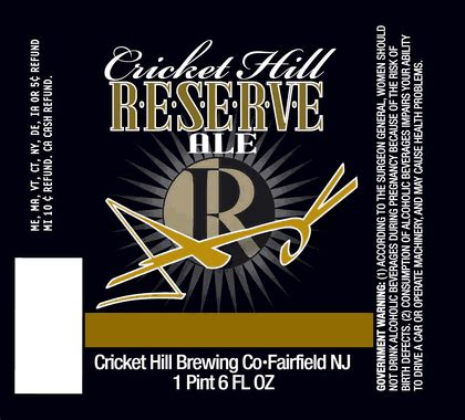 cricket hill cricket hill reserve series 2 and 3 arrive to stores this spring beerpulse