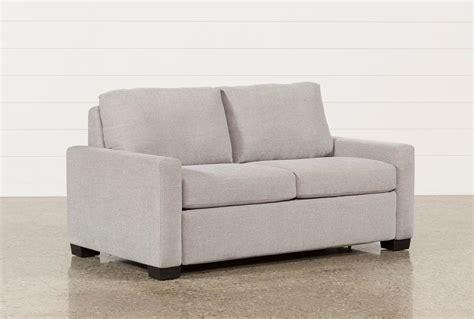 loveseat sofa sleepers mackenzie silverpine sofa sleeper living spaces