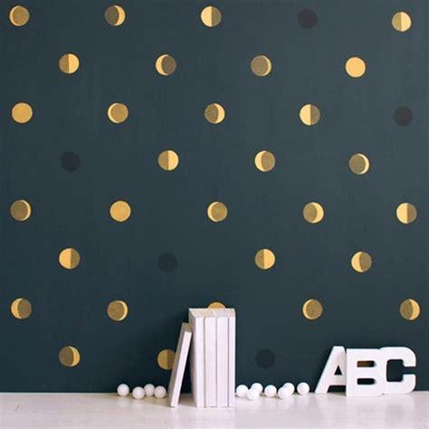 le bureau genevieve des bois papier peint enfant motifs de lune fond bleu
