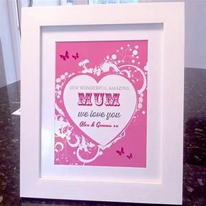 Mothers Day wonderful mum art print