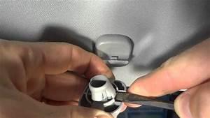 How To Replace Broken Honda Sun Visor Clip