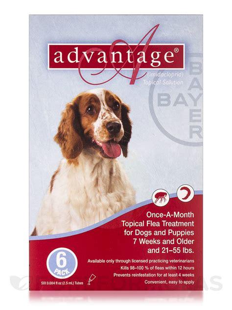 advantage  dogs  puppies  weeks  older