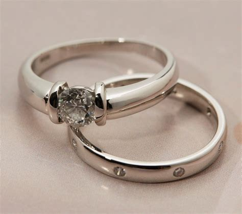 platinum diamond engagement wedding ring com582 second jewellery