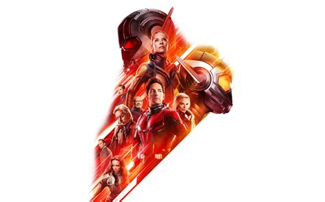 Download 3840x2400 Wallpaper Ant-man And The Wasp, New Movie, 2018, Poster, 4k, Ultra Hd 16