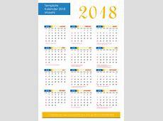 Download Template Kalender Indonesia Lengkap Dengan Hari