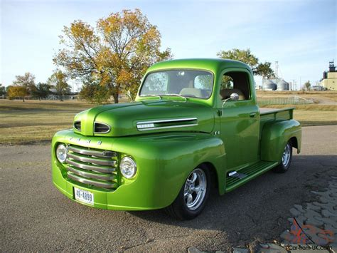 Ford Hot Rod Custom Pickup Collector Car