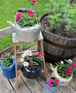 Rever De Jardin : six d corations jardin avec recuperation pour r ver ~ Carolinahurricanesstore.com Idées de Décoration