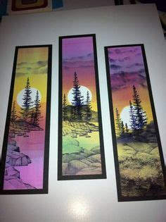 christmas art projects for middle schoolers lesson idea painting watercolors media bookmarks watercolor and